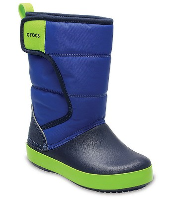 Schuhe Crocs Lodge Point Snow Boot - Blue Jean/Navy