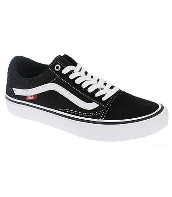 chaussures Vans Old Skool Pro - Black/White