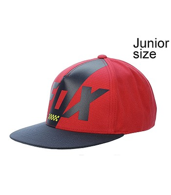 kšiltovka Fox Scalene Snapback Youth - Dark Red  a1c8c1faff