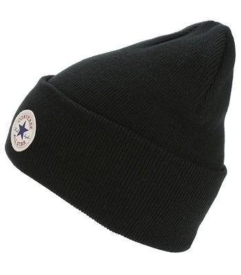čepice Converse Tall Cuff Watchcap Knit - 561325 Converse Black ... aa51aef8ff