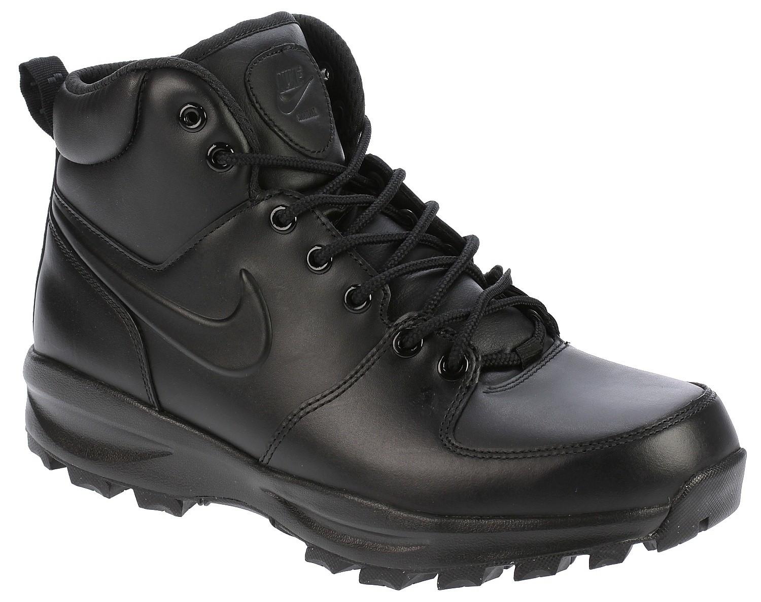 shoes Nike Manoa Leather - Black/Black