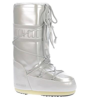 boty Tecnica Moon Boot Vinile Met - White