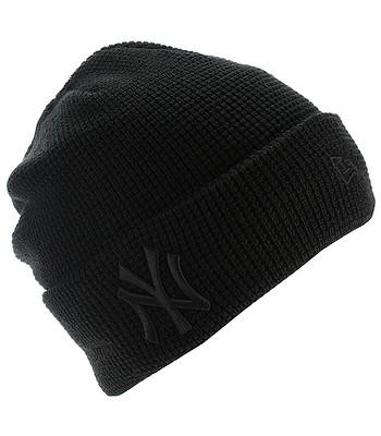 gorra New Era Essential Waffle Knit MLB New York Yankees - Black ... b79549ead8d