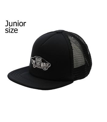 baseball Cap Vans Classic Patch Trucker Youth - Black/Black