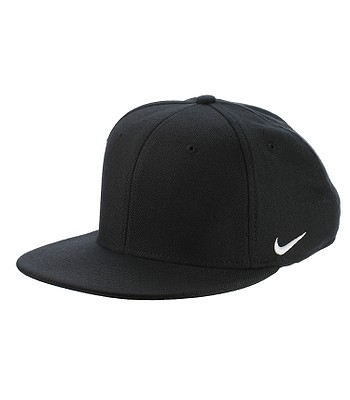 f14125198d3 kšiltovka Nike True Swoosh Flex - 010 Black White