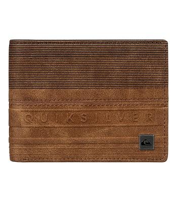 peněženka Quiksilver Everyday Stripe - CMT0 Bone Brown  917ccda5f25