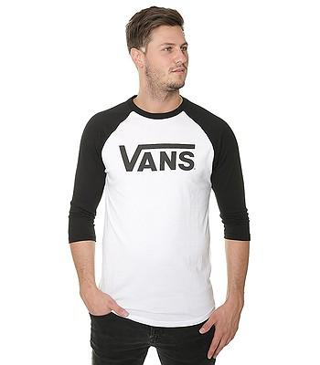 T-Shirt Vans Classic Raglan 3/4 - White/Black