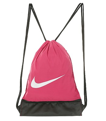 Perth Blackborough Escuchando Racional  bag Nike Brasilia Gymsack - 666/Rush Pink/Black/White - blackcomb-shop.eu