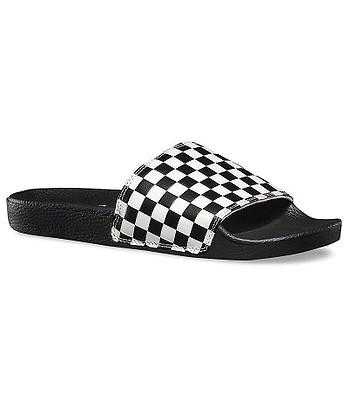 deb580736f topánky Vans Slide-On - Checkerboard White