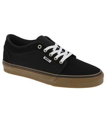 Permanecer de pié varonil caligrafía  shoes Vans Chukka Low - Black/Black/Gum - blackcomb-shop.eu