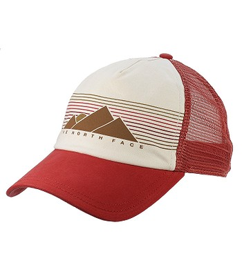 99eb8bd3224 cap The North Face Low Pro Trucker - Sunbaked Red Vintage White -  blackcomb-shop.eu