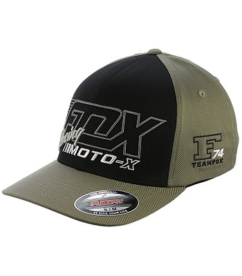 cheap for discount 1cbb2 c544f baseball Cap Fox Flection Flexfit - Fatigue Green
