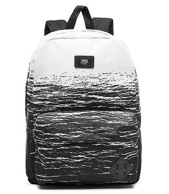 più foto 45c09 6083a backpack Vans Old Skool II - White Dark Water - blackcomb ...