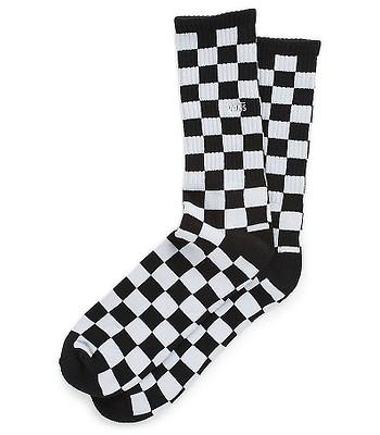 ponožky Vans Checkerboard II Crew - Black/White Checkerboard