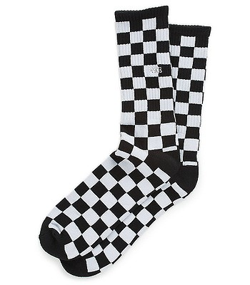 skarpetki Vans Checkerboard II Crew - Black/White Checkerboard