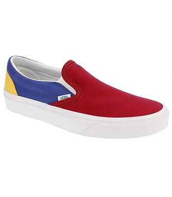 fc0b2fc1307034 shoes Vans Classic Slip-On - Vans Yacht Club Red Blue Yellow -  blackcomb-shop.eu