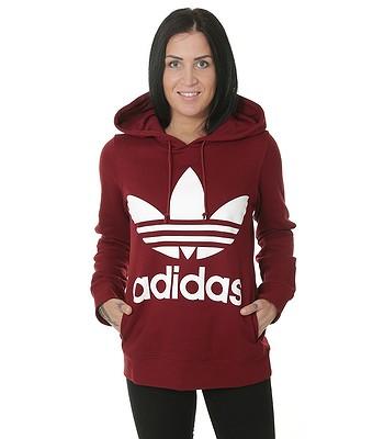 ca32c98e sweatshirt adidas Originals Trefoil Hoodie - Collegiate Burgundy ...