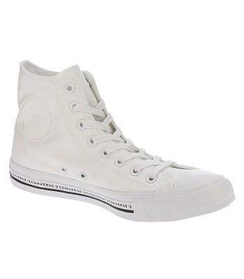 boty Converse Chuck Taylor All Star Hi - 159586 White White Black ... 57ad3147d55