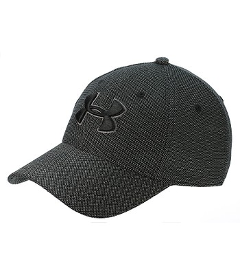 cap Under Armour Heathered Blitzing 3.0 - 001/Black/Graphite