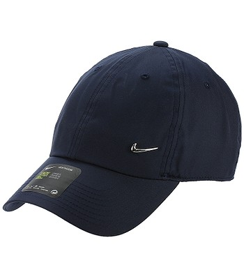 cap Nike Sportswear Heritage86 Metal Swoosh - 451/Obsidian/Metallic Silver