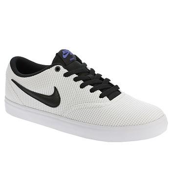 de66100716 shoes Nike SB Check Solar Canvas - White Black White Hyper Royal - blackcomb -shop.eu