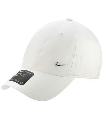 kšiltovka Nike Sportswear Heritage86 Metal Swoosh - 100/White/Metallic Silver