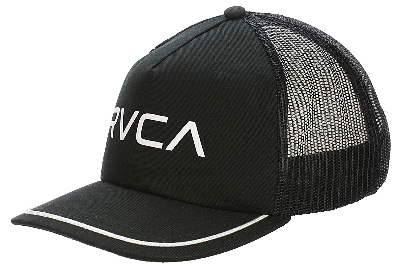 42dbb6a04da ... official store cap rvca title trucker black 22d28 a5cdb