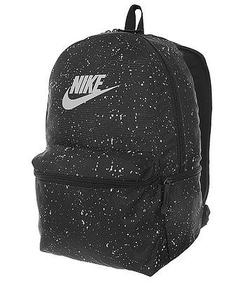 backpack Nike Heritage AOP - 010 Black Black White - blackcomb-shop.eu 32ca1b137d76b