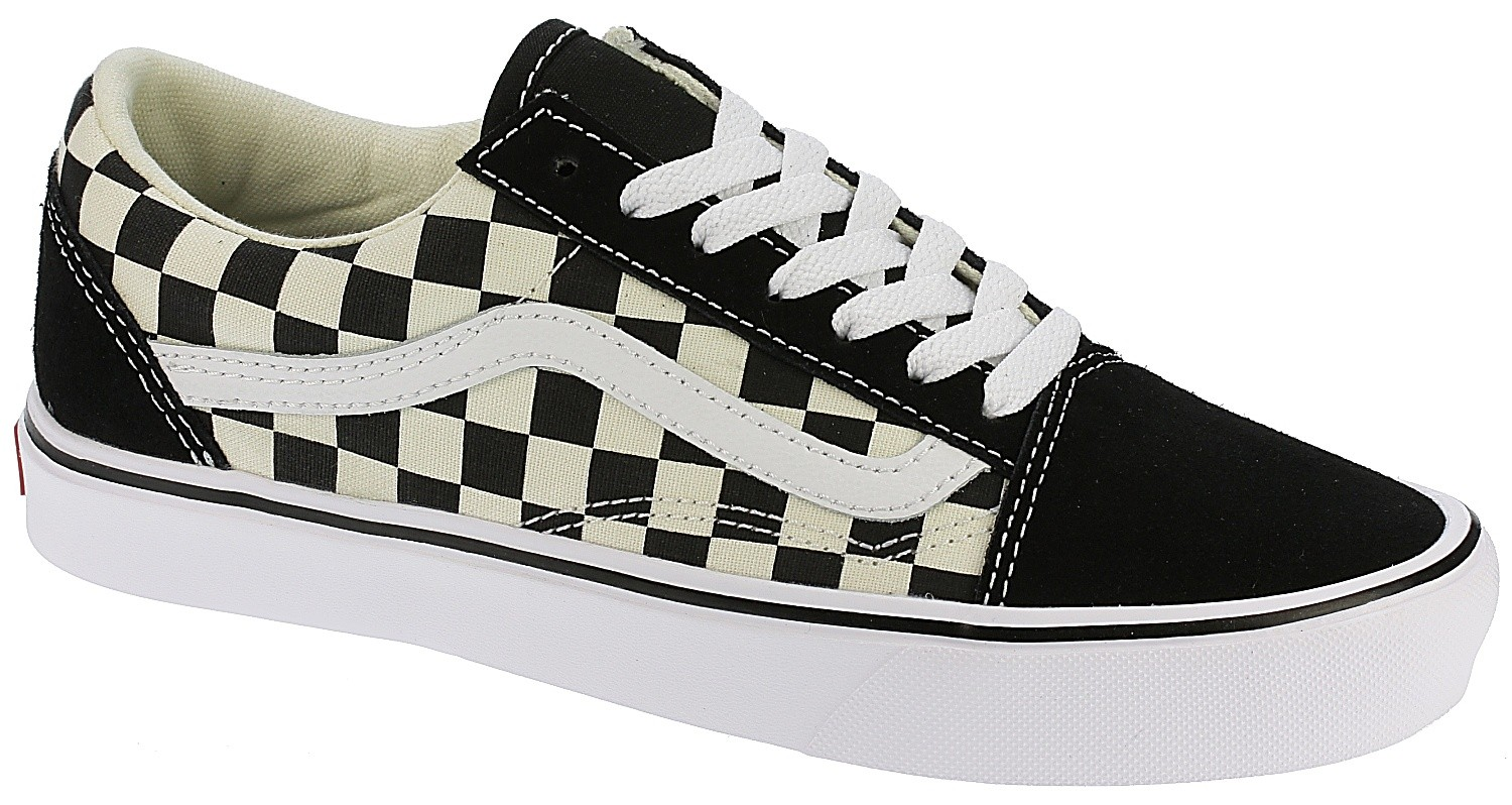 Shoes Vans Old Skool Lite Checkerboard Black White Snowboard Online Eu