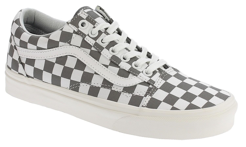Schuhe Vans Old Skool CheckerboardPewterMarshmallow