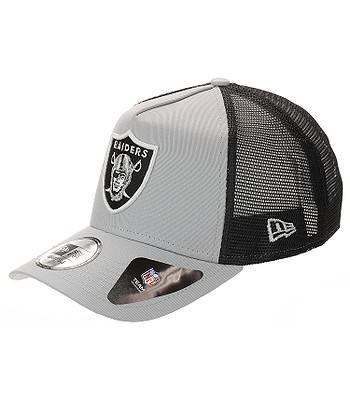 nowe wydanie buty jesienne odebrać cap New Era 9FO Team Essential Trucker NFL Oakland Raiders ...