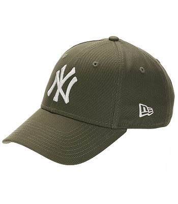 kšiltovka New Era 9FO League Essential MLB New York Yankees - New Olive/White