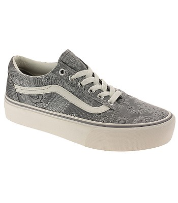 reputable site 86c3c b5f27 Schuhe Vans Old Skool Platform - Satin Paisley/Gray/Snow ...