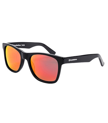 Brille Horsefeathers Foster - Gloss Black/Mirror Red/Polarized - men´s