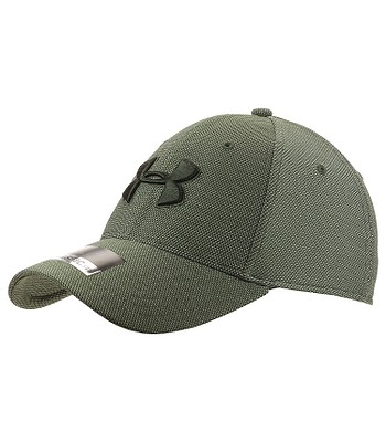 f6368fdb0a8 Kappe Under Armour Heathered Blitzing 3.0 - 330 Downtown Green White - men´s