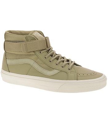 88be6373fe shoes Vans Sk8-Hi Reissue Strap - Leather Ballistic Cornstalk - blackcomb -shop.eu