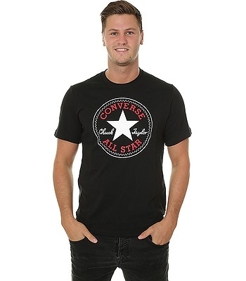 T-Shirt Converse Chuck Patch/10007887 - A01/Black - men´s