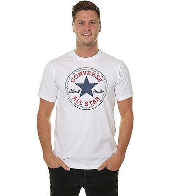 T-Shirt Converse Chuck Patch/10007887 - A04/White - men´s