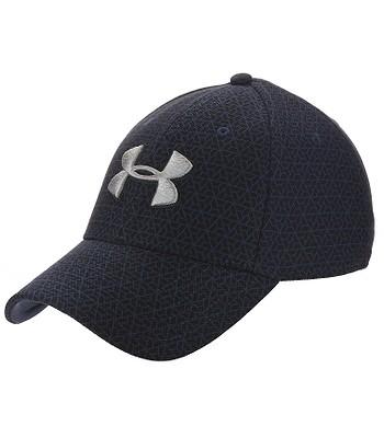czapka z daszkiem Under Armour Printed Blitzing 3.0 - 409/Academy/Black