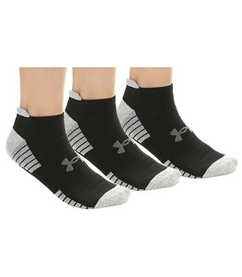 bc26efe97 ponožky Under Armour HeatGear Tech Golf No Show 3 Pack - 001/Black/Gray