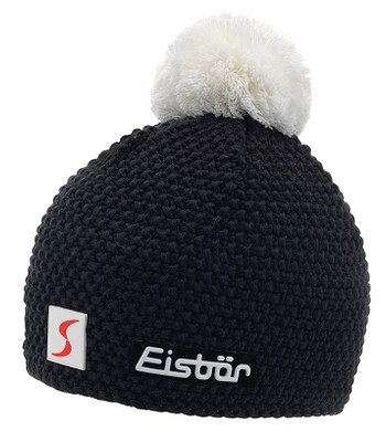 894074593 čiapka Eisbär Jamie Pompon MÜ SP - 109/Schwarz/White | blackcomb.sk