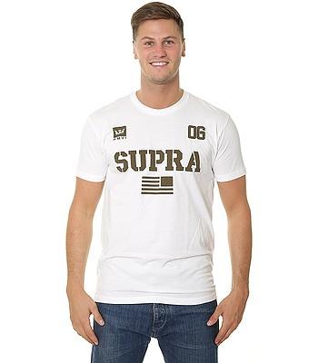 tričko Supra Team USA - White/Dark Olive