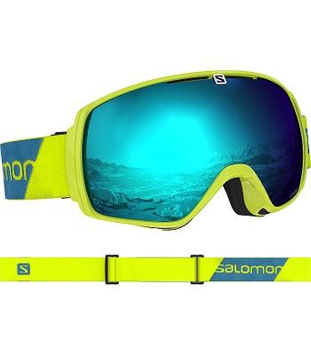 e6e50acd9 okuliare Salomon XT One - Neon Yellow/Solar Blue | blackcomb.sk