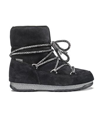 boty Tecnica Moon Boot We Low Suede - Black