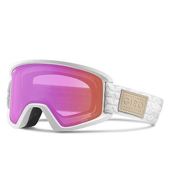 okuliare Giro Dylan - White Quilted Amber Pink Yellow  e2c98b424c6