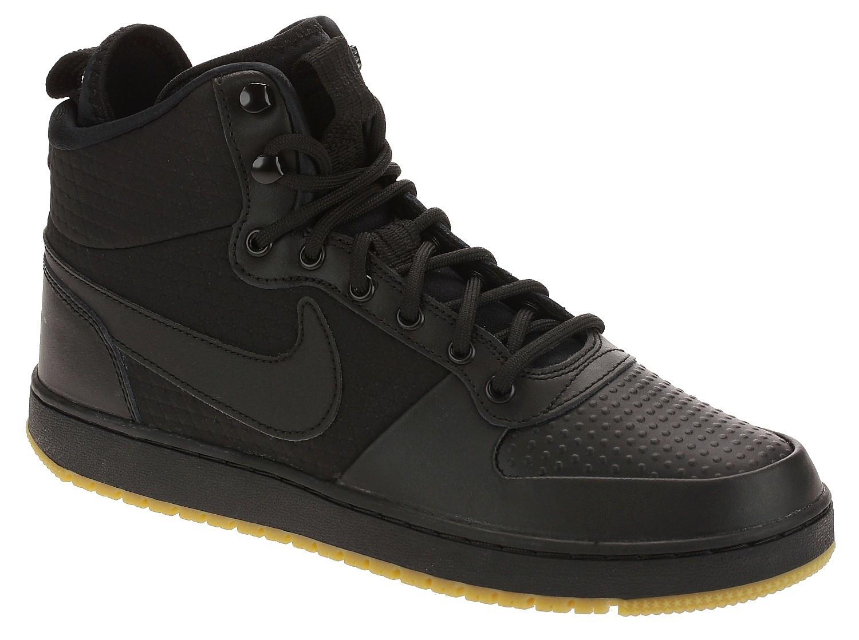 shoes Nike Ebernon Mid Winter - Black