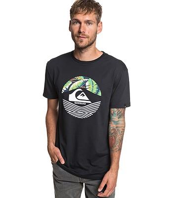 T-Shirt Quiksilver Stomped On - KVJ0/Black - men´s