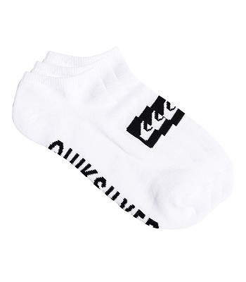 ponožky Quiksilver Ankle 3 Pack - WBB0/White