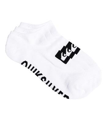 Socken Quiksilver Ankle 3 Pack - WBB0/White - men´s