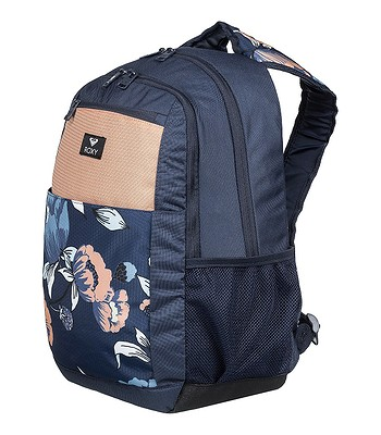 Rucksack Roxy Here You Are Fitnes - XBBM/Dress Blues Full Flowers Fit - women´s